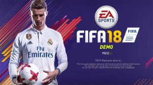 Demo do FIFA18 disponível para download